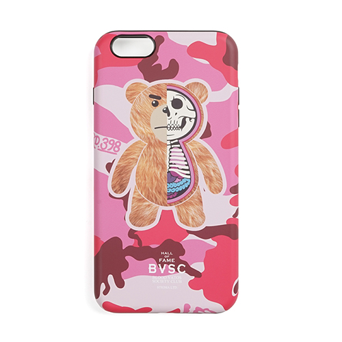 PHONE CASE TEDD PINK iPHONE 6s/6s+/7/7+/8/8+