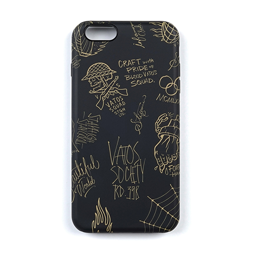 PHONE CASE TATTOO BLACK iPHONE6S/6S+