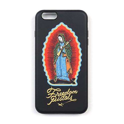 PHONE CASE GUADALUPE BLACK iPHONE6S/6S+