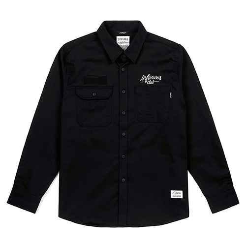 INFAMOUS WORK SHIRTS BLACK