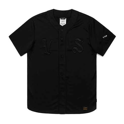 VS BASEBALL JERSEY BLACK