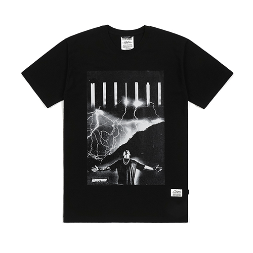 DON MILLS X STIGMA T-SHIRTS BLACK