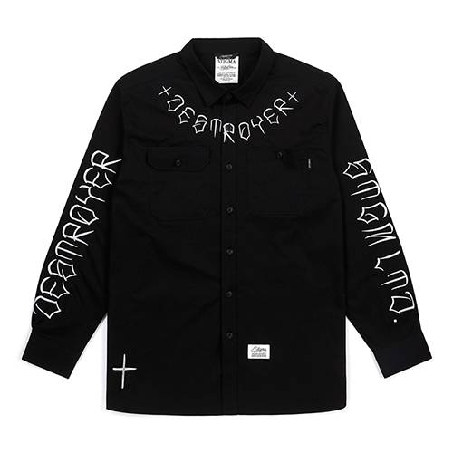 DESTROYER WORK SHIRTS BLACKSOLD OUT