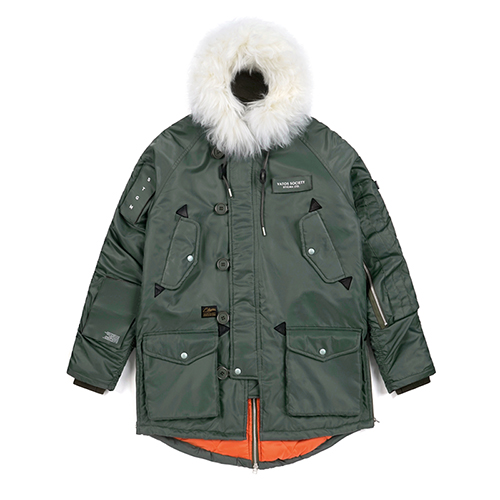CLOSER N-3B PARKA KHAKISOLD OUT