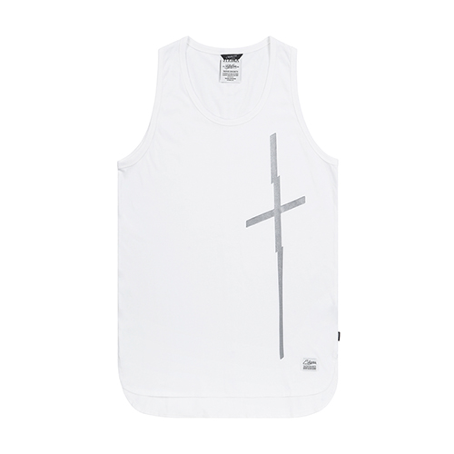 CRUZ LONG SLEEVELESS WHITESOLD OUT