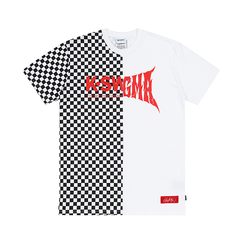 K.SWISS X STIGMA LOGO T-SHIRTS WHITESOLD OUT