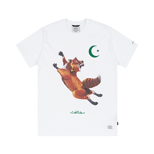FOX T-SHIRTS WHITE