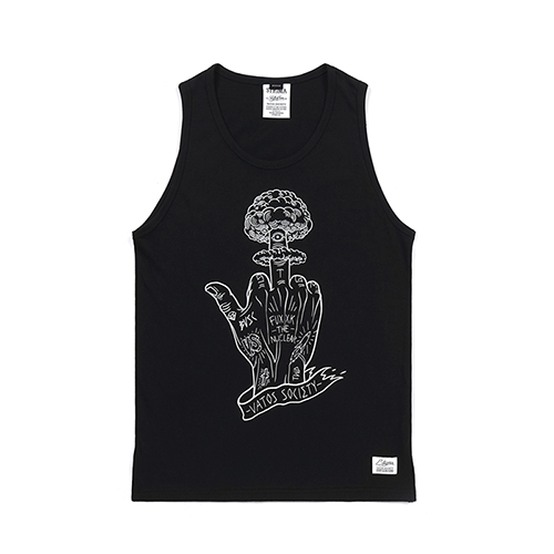 NUCLEAR SLEEVELESS BLACK