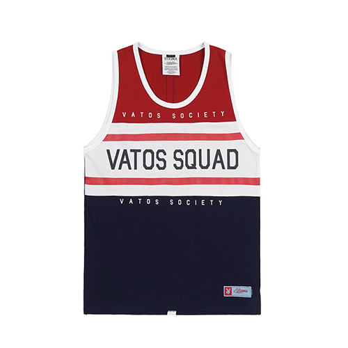 RUGBY SLEEVELESS RED