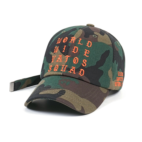 WORLD BASEBALL CAP CAMOUFLAGE