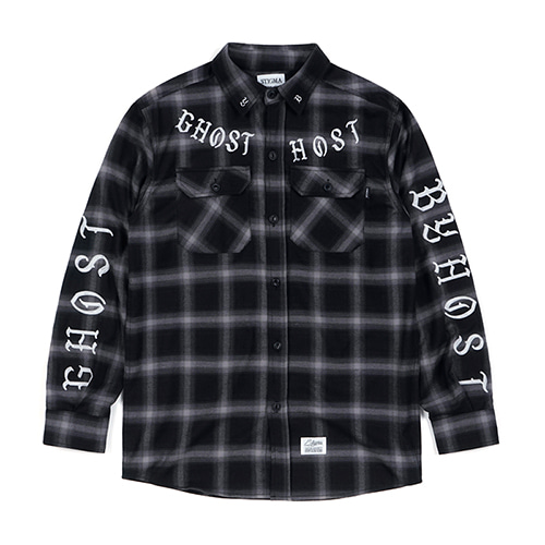 GHOST WORK SHIRTS DARK GREY