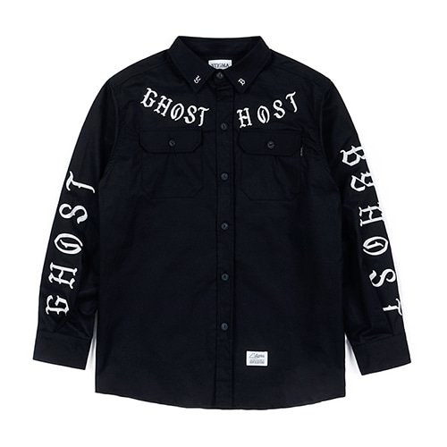GHOST WORK SHIRTS BLACKSOLD OUT