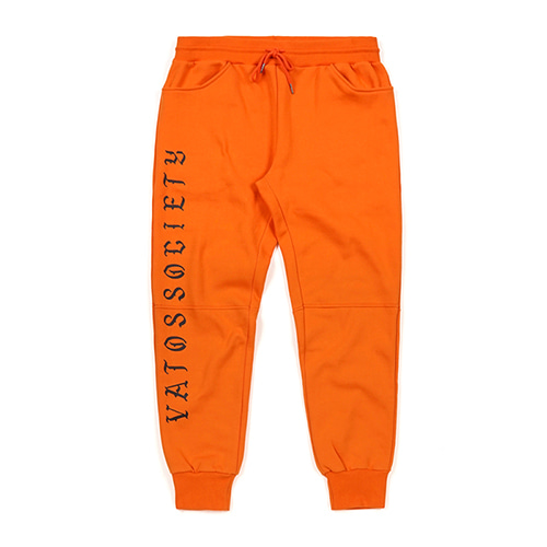 VATOS HEAVY SWEAT JOGGER PANTS ORANGESOLD OUT