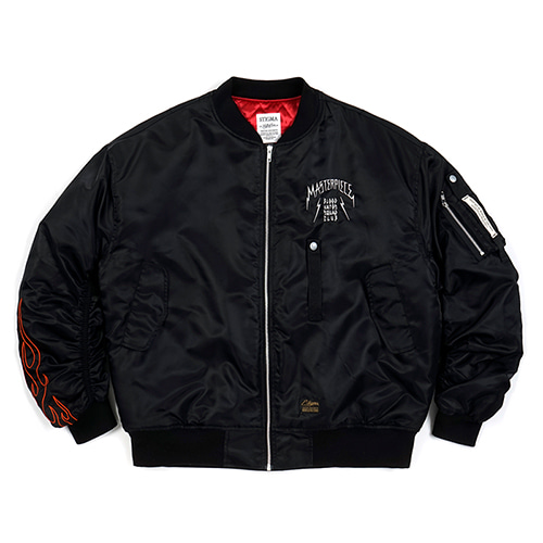 MASTERPIECE OVERSIZED MA-1 JACKET BLACKSOLD OUT