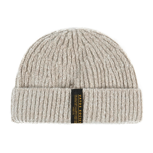 GORGE SHORT BEANIE BEIGESOLD OUT