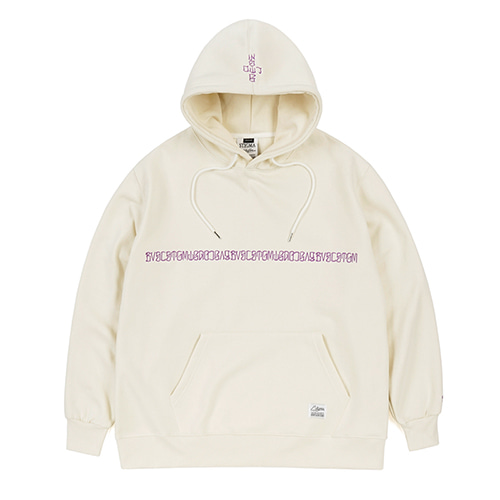BVSC OVERSIZED HEAVY SWEAT HOODIE BEIGESOLD OUT