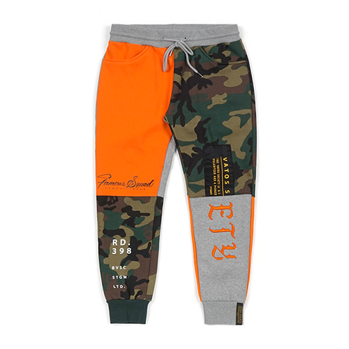 COMBINE HEAVY SWEAT JOGGER PANTS ORANGE
