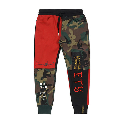 COMBINE HEAVY SWEAT JOGGER PANTS REDSOLD OUT