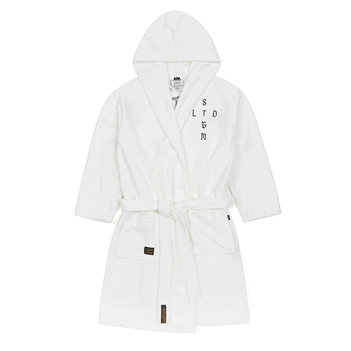 VATOS BATH ROBE WHITE