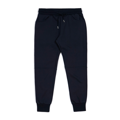 BLANK HEAVY SWEAT JOGGER PANTS NAVY