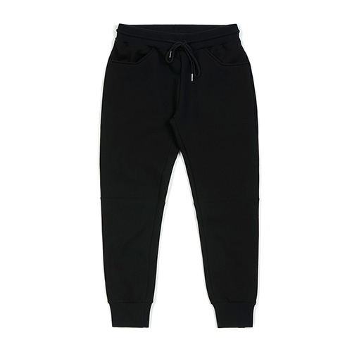BLANK HEAVY SWEAT JOGGER PANTS BLACKSOLD OUT