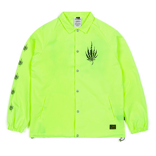 DUST OVERSIZED COACH JACKET NEON GREEN