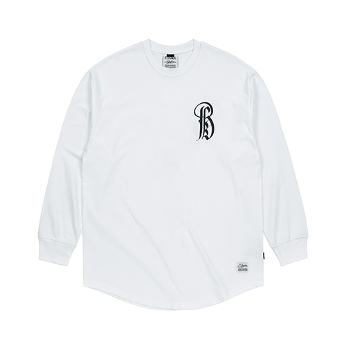 LTD LAYERED LONG SLEEVES T-SHIRTS WHITE