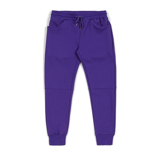 BLANK HEAVY SWEAT JOGGER PANTS VIOLET