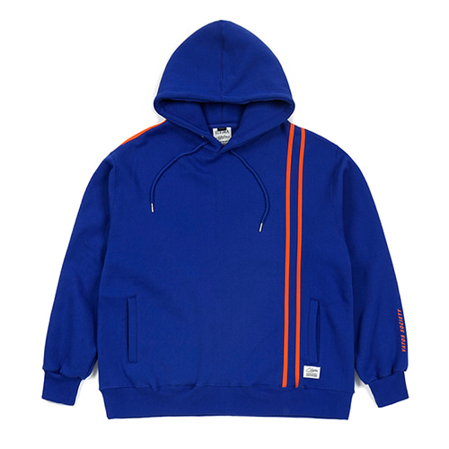 LINE SPORTS HEAVY SWEAT OVERSIZED HOODIE BLUE