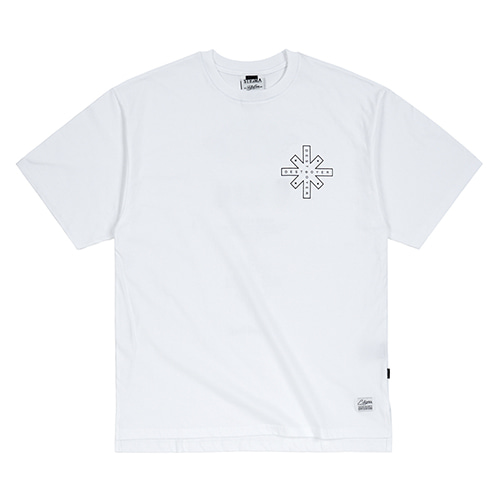 DESTROYER OVERSIZED T-SHIRTS WHITE