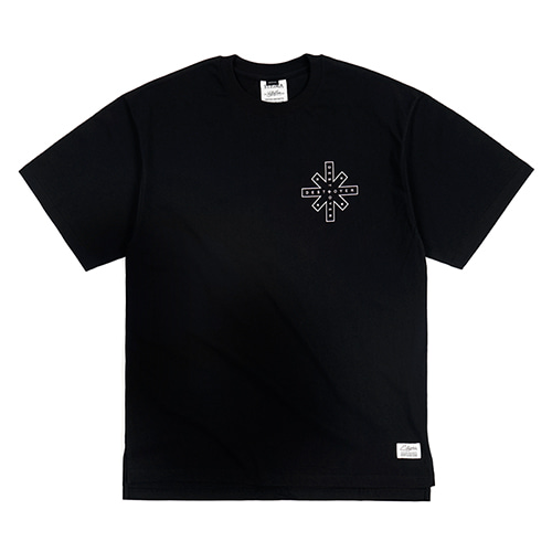 DESTROYER OVERSIZED T-SHIRTS BLACK