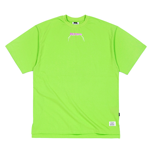 RAT FINK OVERSIZED T-SHIRTS NEON GREEN
