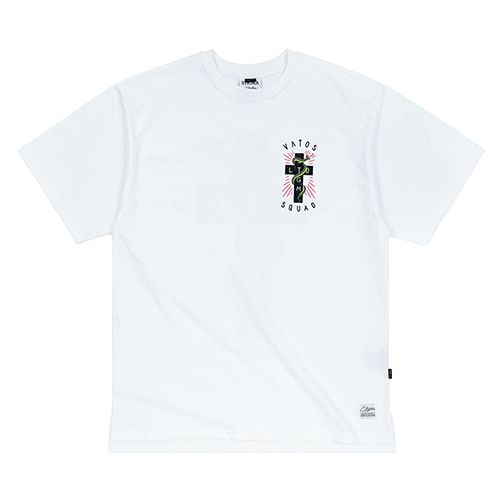 SNAKE OVERSIZED T-SHIRTS WHITE