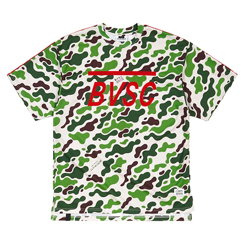 LOGO COOLON OVERSIZED T-SHIRTS CAMOUFLAGE