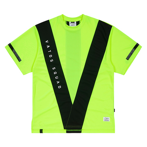 VS COOLON OVERSIZED T-SHIRTS NEON GREEN