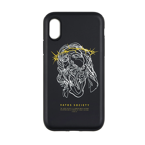 PHONE CASE JESUS ver.2 BLACK iPHONE 8 / 8+ / X