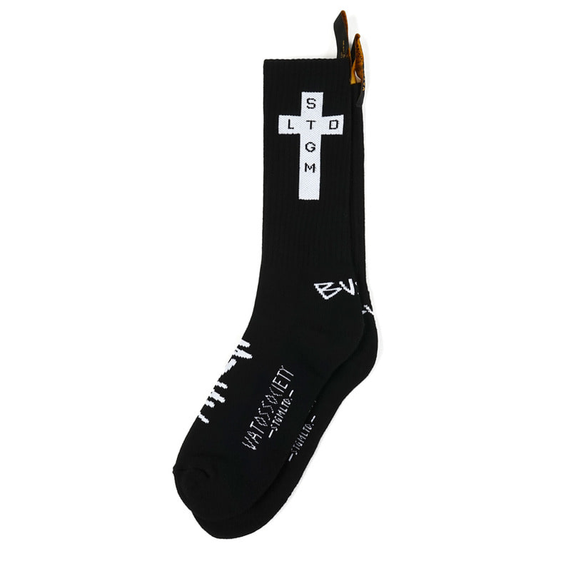 CROSS SKATE SOCKS BLACK