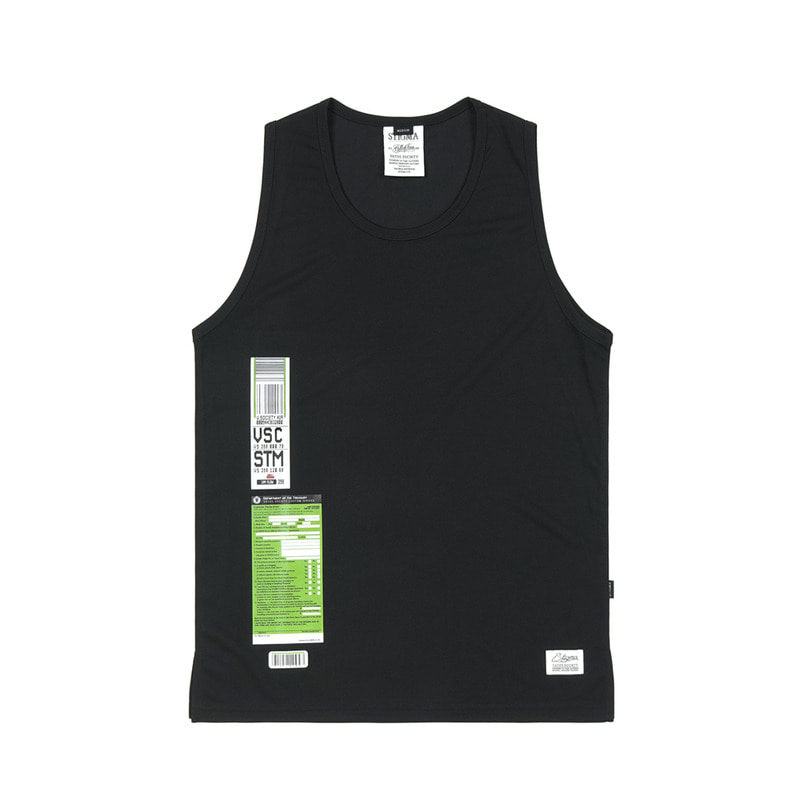 IMMIGRATION COOLON SLEEVELESS BLACK