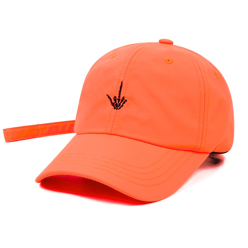 Fxxk BASEBALL CAP NEON ORANGE