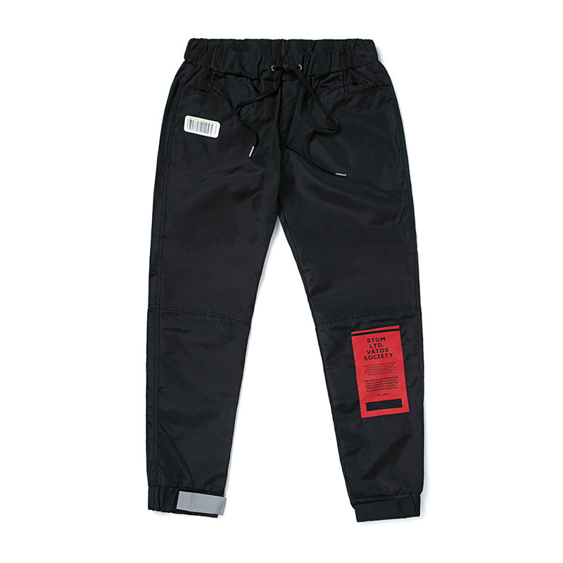 TIGER BENDING JOGGER PANTS BLACK