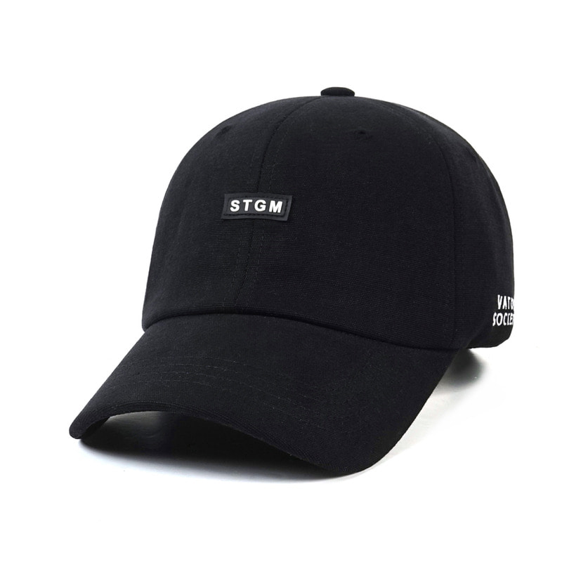 STGM OXFORD WASHING BASEBALL CAP BLACK