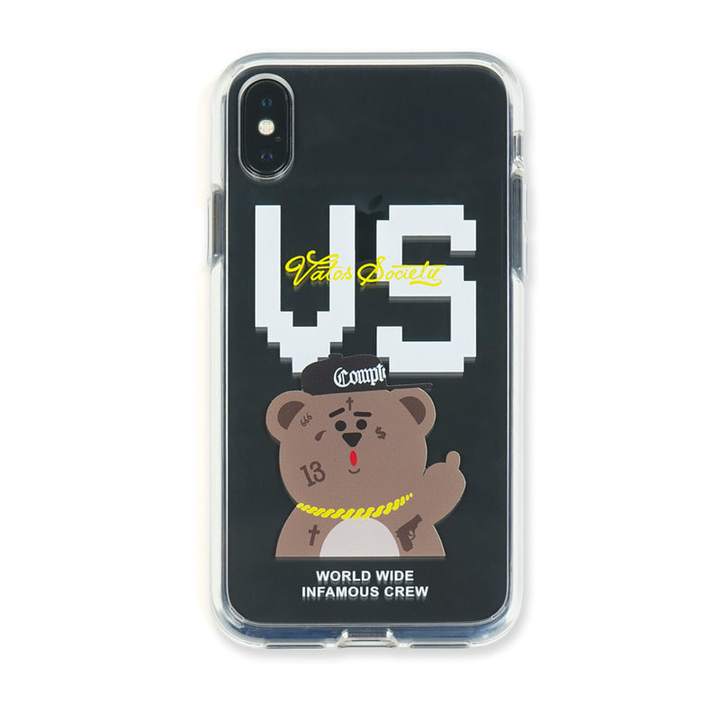 PHONE CASE VS BEAR CLEAR iPHONE Xs / Xs MAX / Xr
