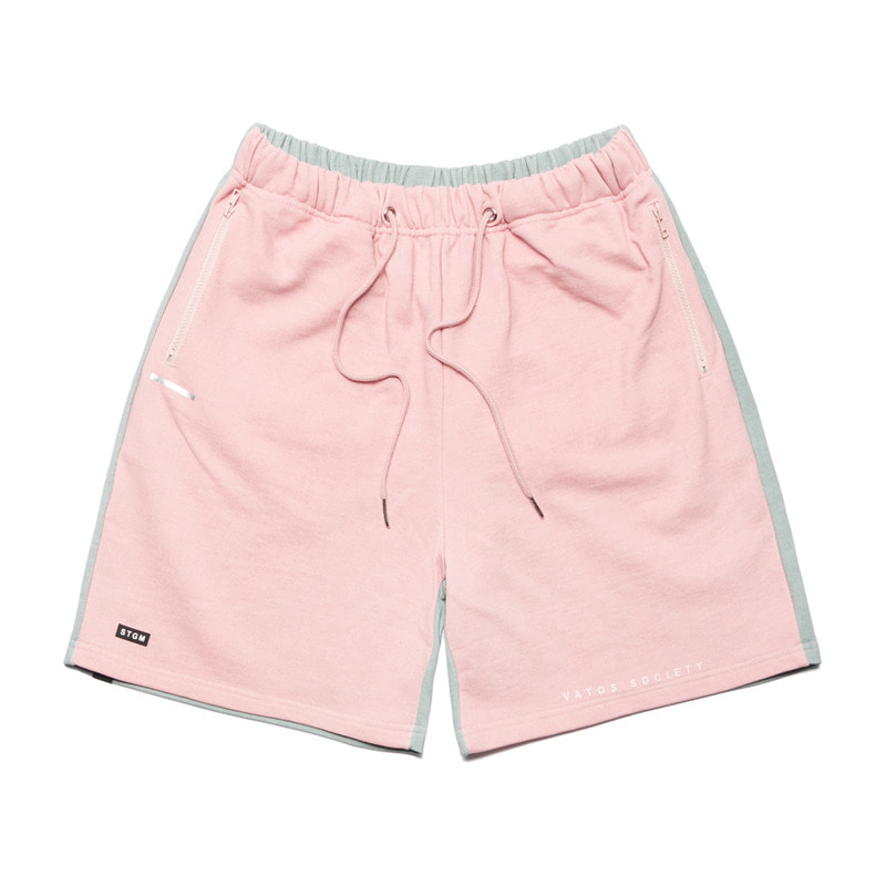SIDE HALF SHORT PANTS PINK