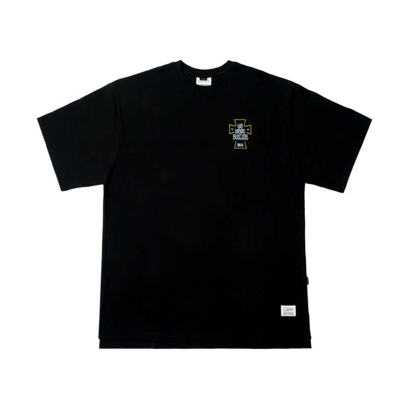 SUICIDE OVERSIZED T-SHIRTS BLACKSOLD OUT