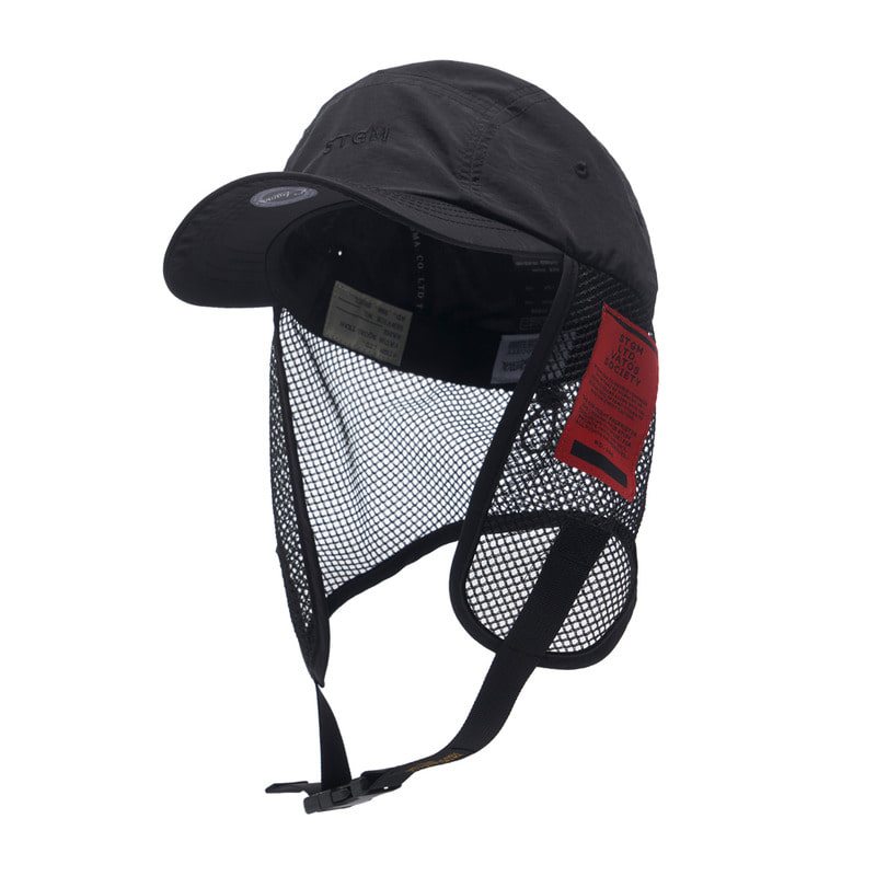 STGM FISHING CAP BLACK