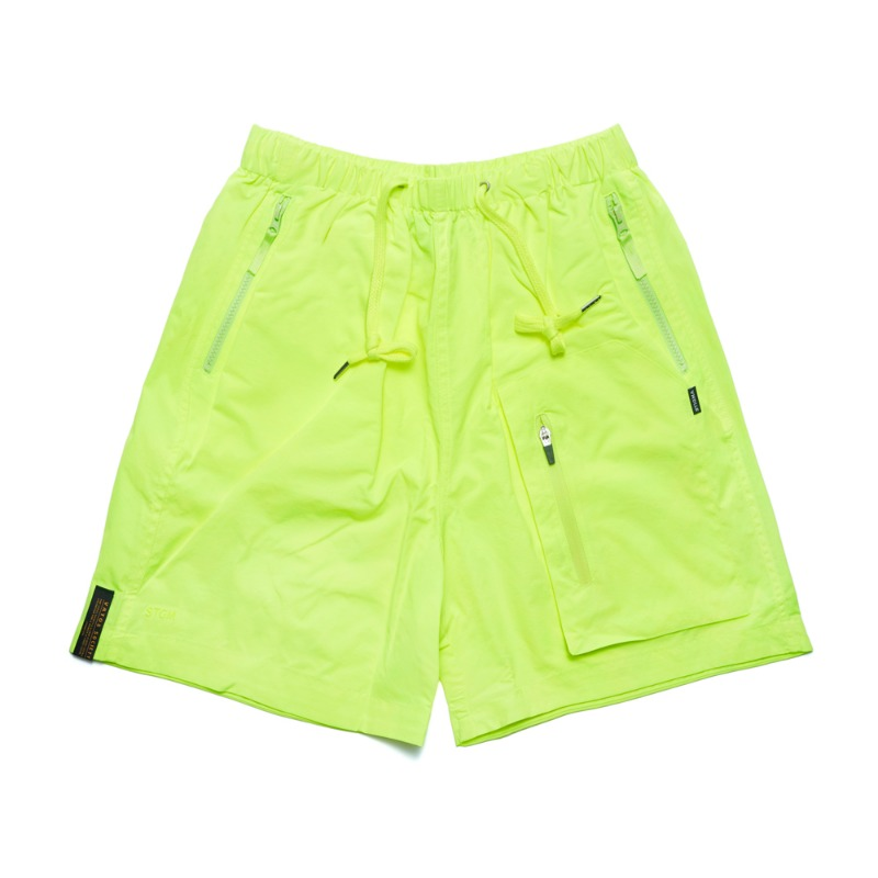 STGM TECH SHORT PANTS NEON GREENSOLD OUT