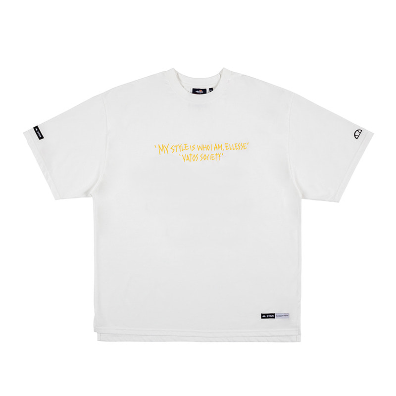 STIGMA x ELLESSE 60th ANNIVERSARY OVERSIZED T-SHIRTS WHITESOLD OUT