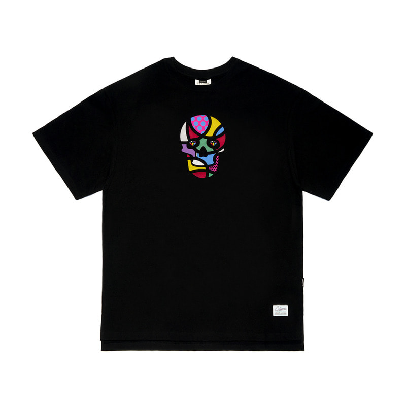 STIGMA X KOMA OVERSIZED T-SHIRTS BLACK