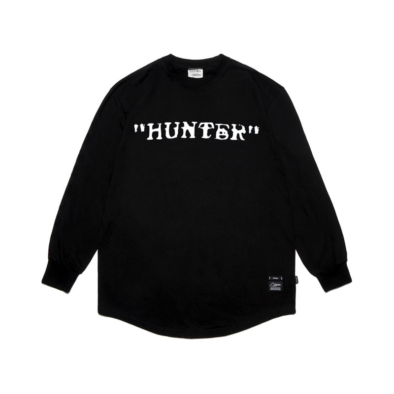 STIGMA X HUNTER LAYERED LONG SLEEVES T-SHIRTS BLACKSOLD OUT