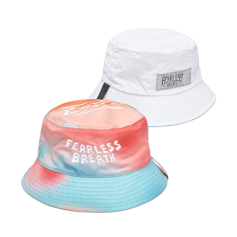 TROPICAL REVERSIBLE BUCKET HAT PATTERN